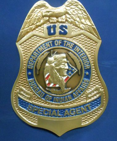 Bureau Of Indian Affairs Badge Wall Seals Www Wallseals Com